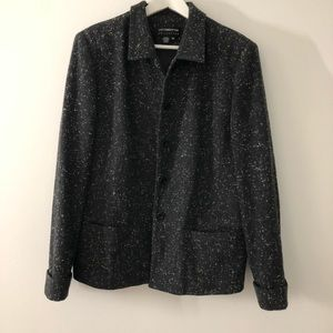 Liz clarinone wool button front winter Jacket